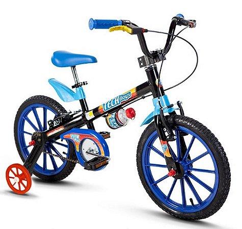 Bicicleta Aro16 Nathor Masculina Tech Boys