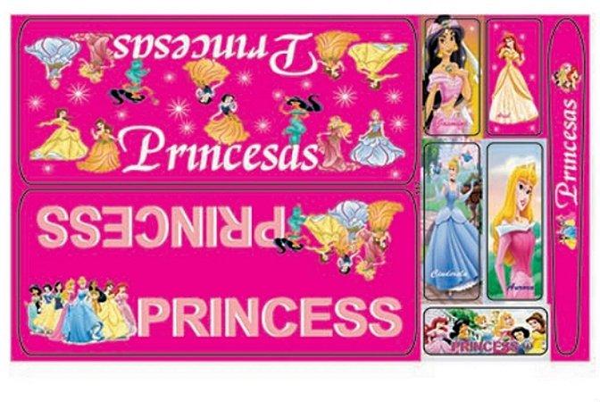Adesivo Princesas Rosa