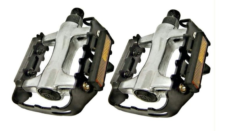 Pedal Alumínio Ningbo 9/16 P/bicicleta Mtb Esferado