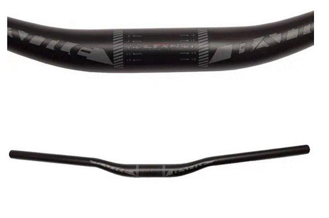 Guidão Mtb 31,8mm Alumínio Ltx Rise 30mm Com 700mm Para Bike