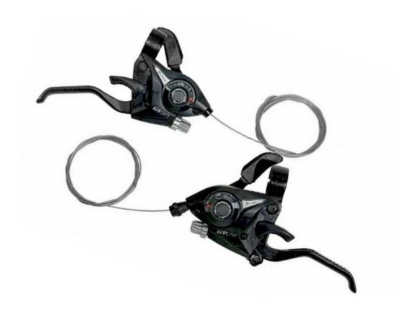 Alavanca Tipo Shimano Rapid Fire 8v P/ 24v Para Bicicletas