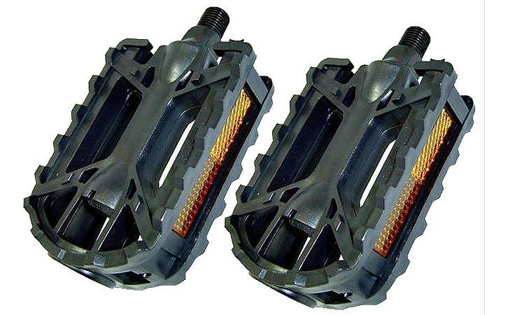 Pedal Rosca Grossa 9/16 De Nylon Para Bicicletas Montagens