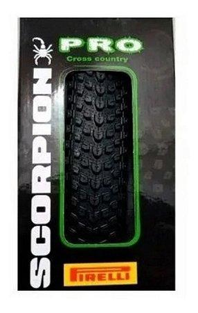 Pneu 29 Pirelli Scorpion Pro 2.20 Kevlar Sem Arame Mtb Bike