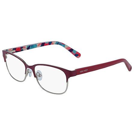 Armação de Óculos Nine West NW1088 610 - 49 - Vermelho
