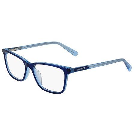 Armação de Óculos Nine West NW5166 400 - 50 - Azul