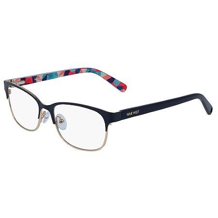 Armação de Óculos Nine West NW1088 400 - 49 - Preto