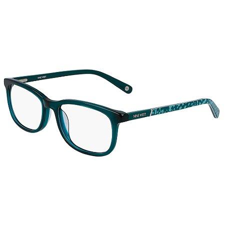 Armação de Óculos Nine West NW5169 324 - 52 - Verde
