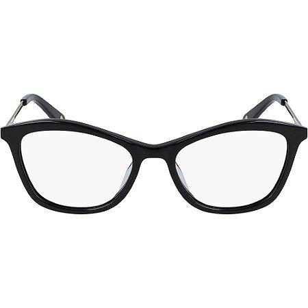 Armação de Óculos Nine West NW5176 001 - 51 - Preto