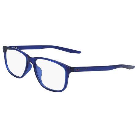 Armação de Óculos Nike 5019 402 - 50 - Azul
