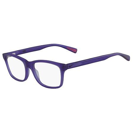 Armação de Óculos Nike 5015 500 - 51 - Roxo - Infantil