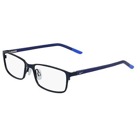 Armação de Óculos Nike 5580 401 - 52 - Azul - Infantil