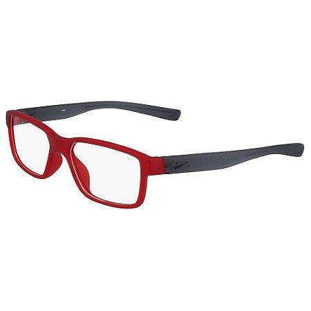 Armação de Óculos Nike 5092 602 - 48 - Vermelho - Infantil