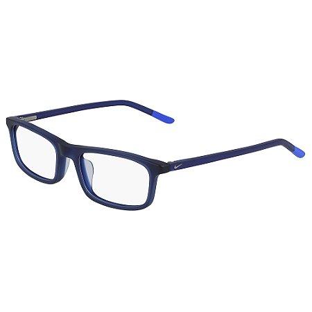 Armação de Óculos Nike 5540 410 - 50 - Azul - Infantil