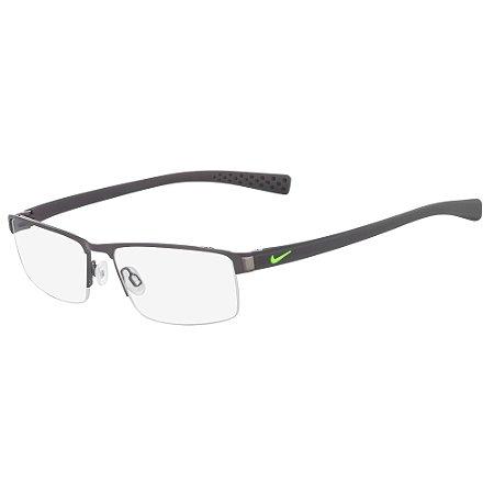 Armação de Óculos Nike 8097 068 - 55 - Cinza