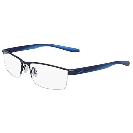 Armação de Óculos Nike 8193 403 - 57 - Azul