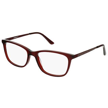 Armação de Óculos Marchon NYC M-5009 610 - 53 - Vermelho