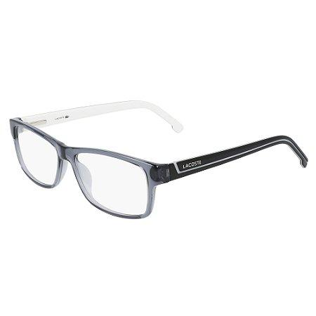 Armação de Óculos Lacoste L2707 035 - 53 - Cinza