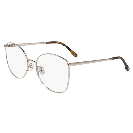 Armação de Óculos Lacoste L2260 757 - 55 - Dourado
