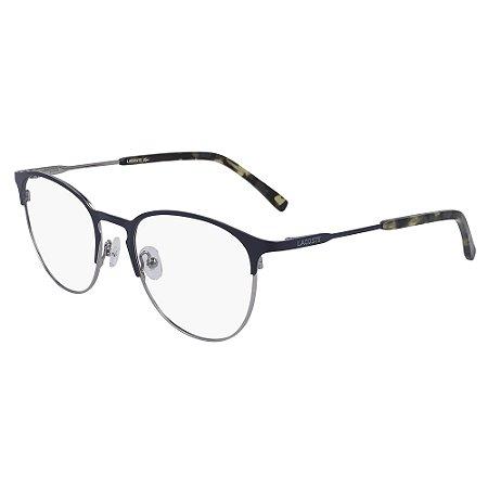 Armação de Óculos Lacoste L2251 424 - 52 - Azul