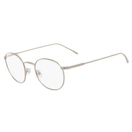 Armação de Óculos Lacoste L2246 714 - 48 - Dourado