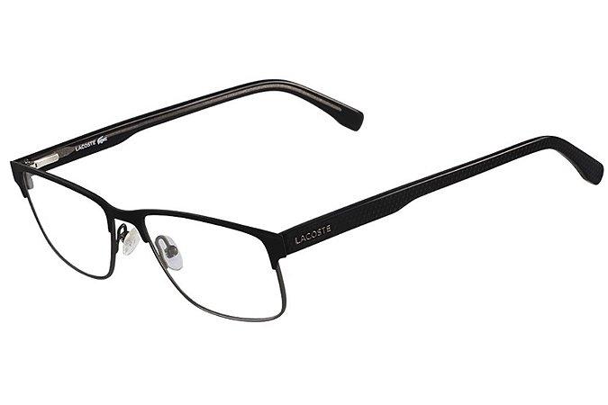 Armação de Óculos Lacoste L2217 001 - 54 - Preto