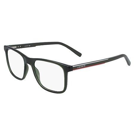 Armação de Óculos Lacoste L2848 317 - 53 - Verde