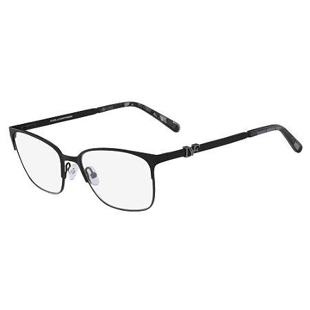 Armação de Óculos Diane Von Furstenberg DVF8058 001 /53