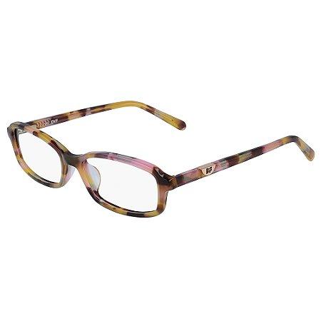 Armação de Óculos Diane Von Furstenberg DVF5119 260 /52 Rosa