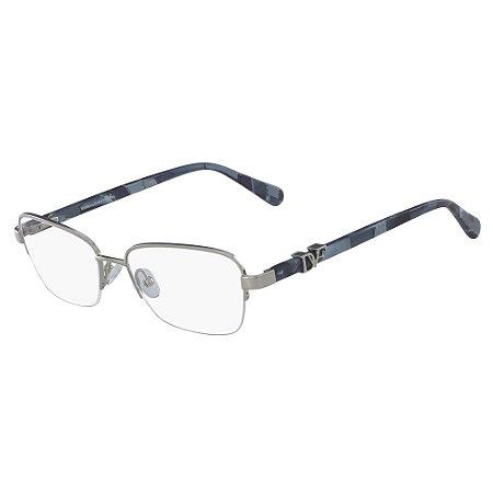 Armação de Óculos Diane Von Furstenberg DVF8063 045 - Azul