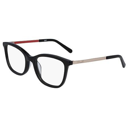 Armação de Óculos Diane Von Furstenberg DVF5128 001 - Preto