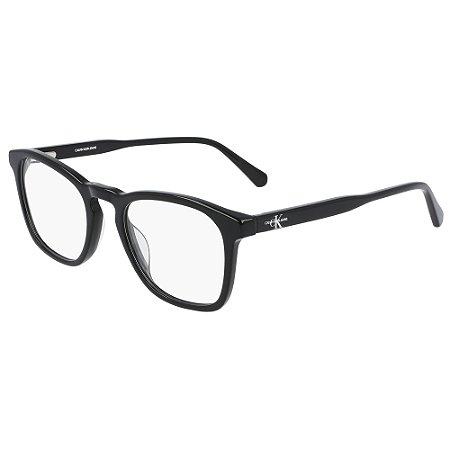 Armação de Óculos Calvin Klein Jeans CKJ21608 001 /52 Preto