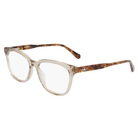 Armação de Óculos Calvin Klein Jeans CKJ21607 274 /53 Marrom