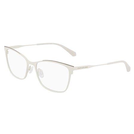 Armação de Óculos Calvin Klein Jeans CKJ21207 277 /53 Bége
