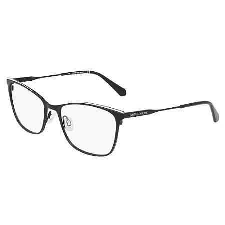 Armação de Óculos Calvin Klein Jeans CKJ21207 073 /53 Preto