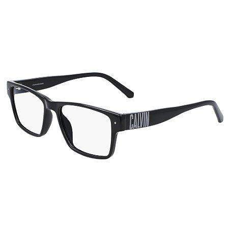 Armação de Óculos Calvin Klein Jeans CKJ20635 001 /54 Preto