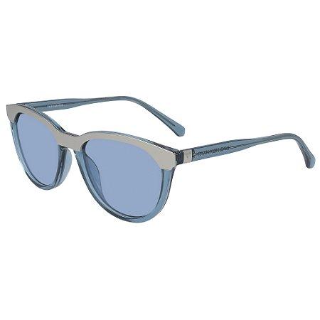 Óculos de Sol Calvin Klein Jeans CKJ19519S 450 - 54 - Azul