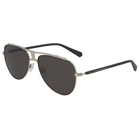 Óculos de Sol Calvin Klein Jeans CKJ19302S 201 - 56 - Marrom