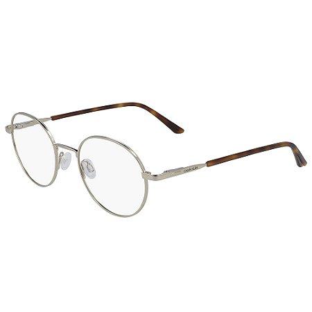 Armação de Óculos Calvin Klein CK20315 717 - 49 - Dourado