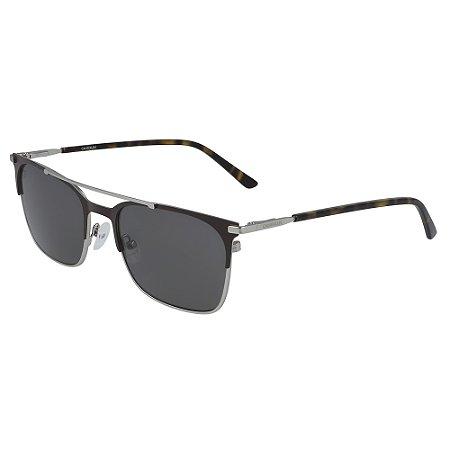 Óculos de Sol Calvin Klein CK19308S 201 - 56 - Marrom