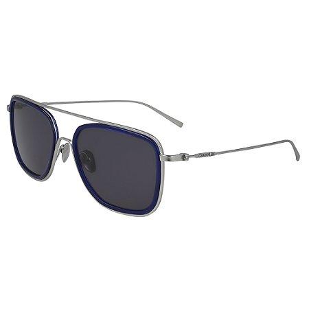 Óculos de Sol Calvin Klein CK19123S 410 - 57 - Cinza