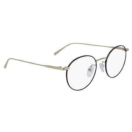 Armação de Óculos Calvin Klein CK5460 715 /49 Black Gold