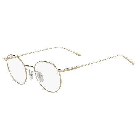 Armação de Óculos Calvin Klein CK5460 714 - 49 - Dourado
