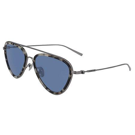 Óculos de Sol Calvin Klein CK19122S 106 - 57 - Cinza