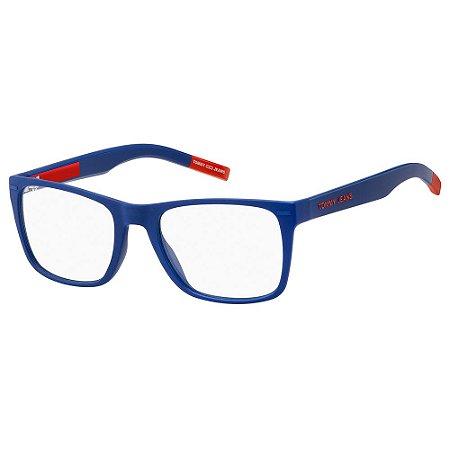 Armação para Óculos Tommy Hilfiger TJ 0045 8RU / 52 - Azul