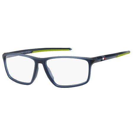 Armação para Óculos Tommy Hilfiger TH 1834 FLL / 57 - Azul