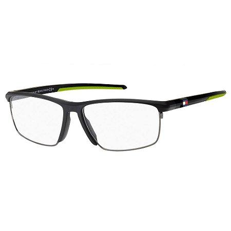 Armação para Óculos Tommy Hilfiger TH 1833 003 / 57 - Preto