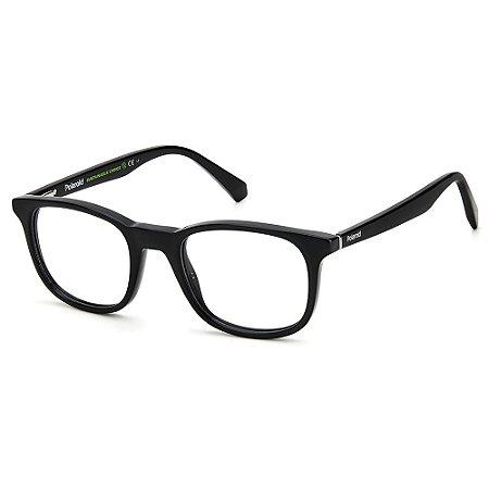Armação para Óculos Polaroid PLD D424 /50 Preto - Polarizado