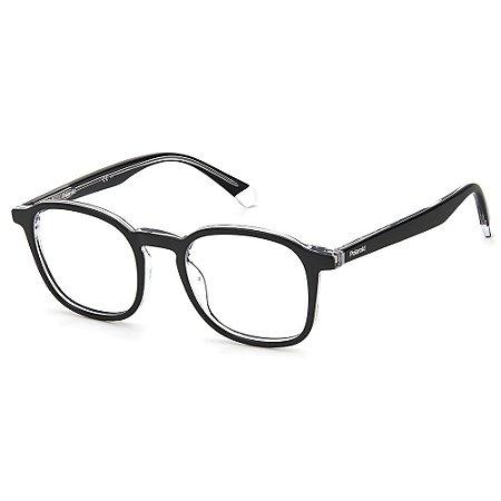 Armação para Óculos Polaroid PLD D393 / 49 - Preto - Clip-On