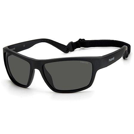 Óculos de Sol Polaroid PLD 7037/S 807 - Esportivo Polarizado