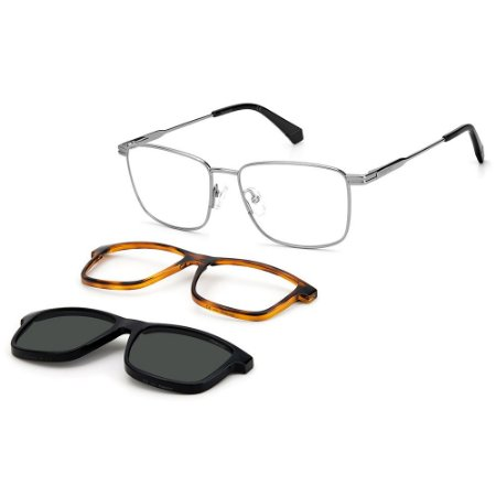Armação para Óculos Polaroid PLD 6134/CS 6LB / 54 - Clip-On